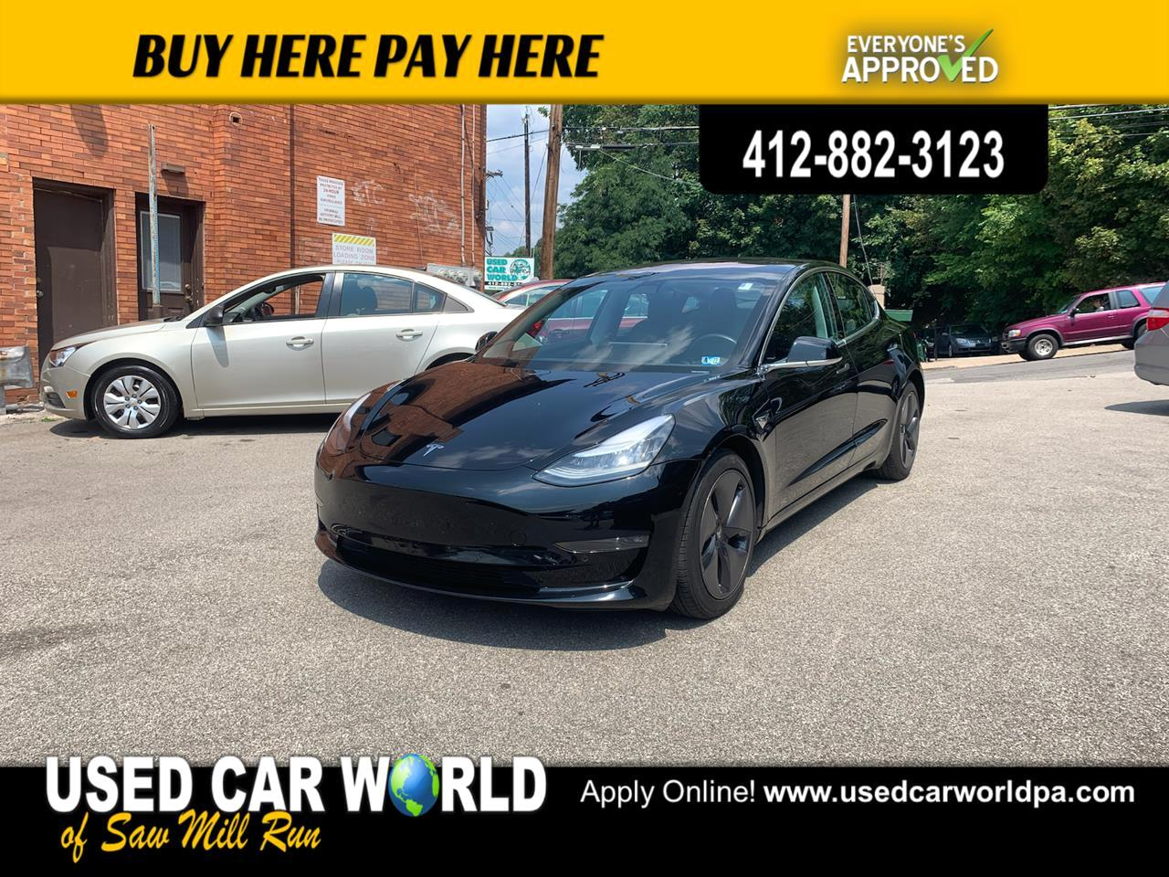 Tesla Model 3 Long Range 4D Sedan AWD 2018