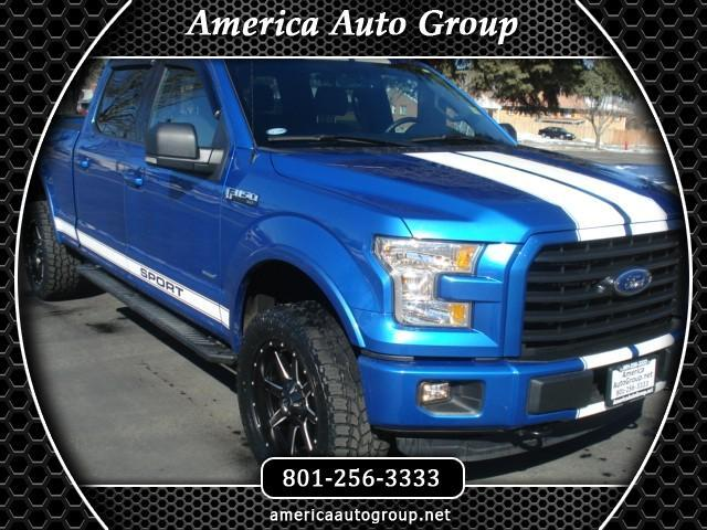 2016 Ford F-150 FX4 Sport SuperCrew 6.5 ft. Bed 4WD