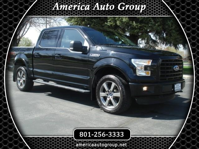 2016 Ford F-150 FX4 SPORT LEATHER SUPERCREW 4WD