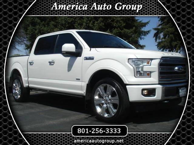 2017 Ford F-150 Limited SuperCrew 5.5-ft. Bed 4WD