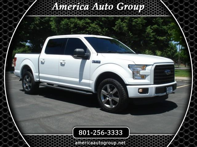 2015 Ford F-150 FX4 SPORT SUPERCREW 5.5-FT BED 4WD
