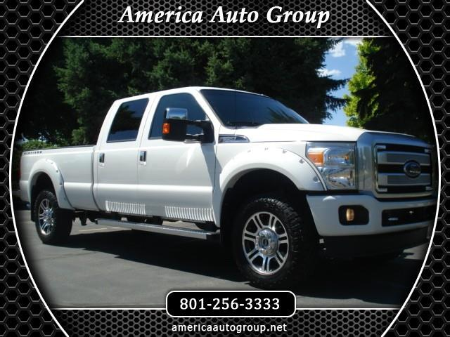 2016 Ford F-350 SD Platinum Crew Cab Long Bed 4WD
