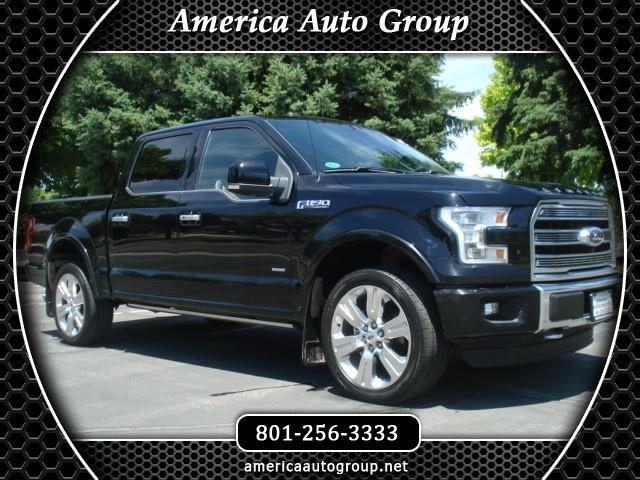 2016 Ford F-150 Limited SuperCrew 5.5-ft. Bed 4WD