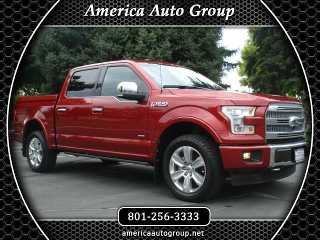 2017 Ford F-150 Platinum SuperCrew 5.5-ft. Bed 4WD