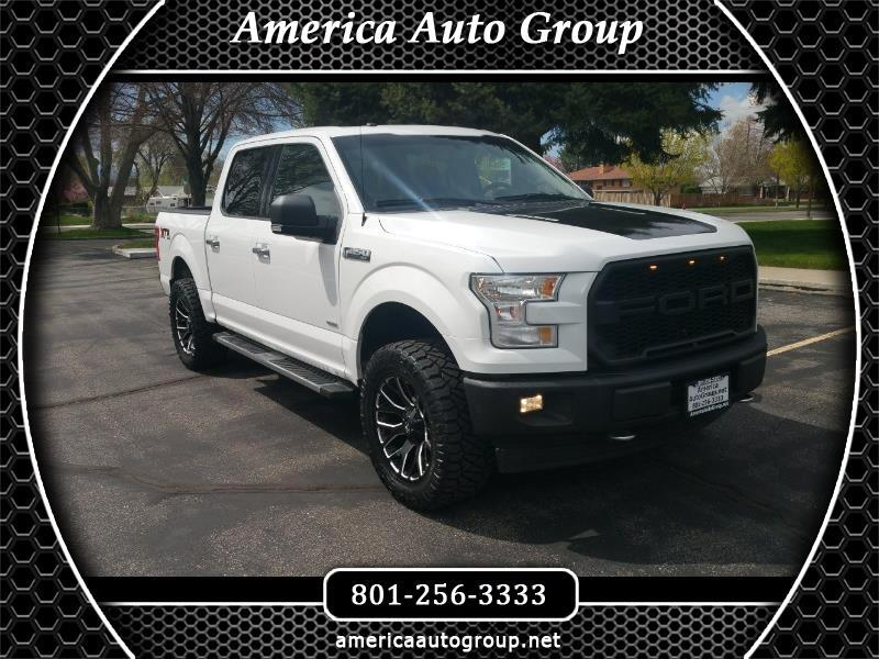 2017 Ford F-150 SuperCrew 5.5-ft. Bed 4WD