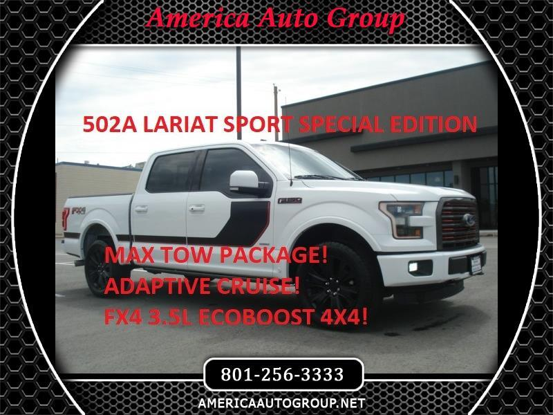 2016 Ford F-150 Lariat Sport FX4 SuperCrew 5.5-ft. Bed 4WD