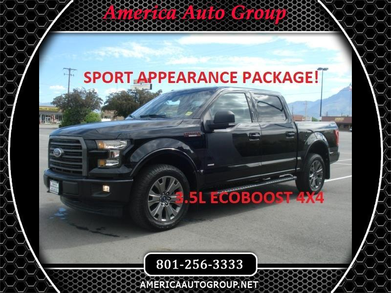 2017 Ford F-150 XLT Sport Appearance Package SuperCrew 5.5-ft. Bed