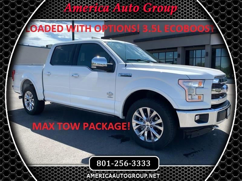 Ford F-150 King-Ranch SuperCrew 5.5-ft. 4WD 2017