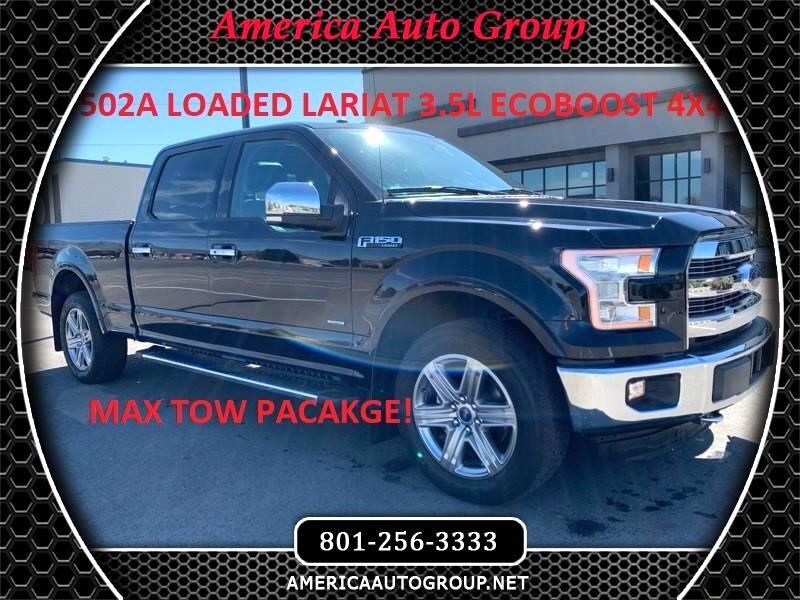 2017 Ford F-150 Lariat SuperCrew 6.5-ft. Bed 4WD