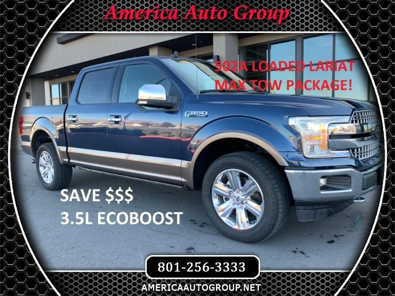 2019 Ford F-150 Lariat SuperCrew 5.5-ft. Bed 4WD