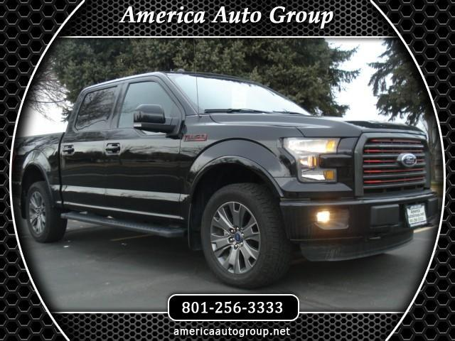 2016 Ford F-150 Lariat Sport SuperCrew 5.5-ft. Bed 4WD
