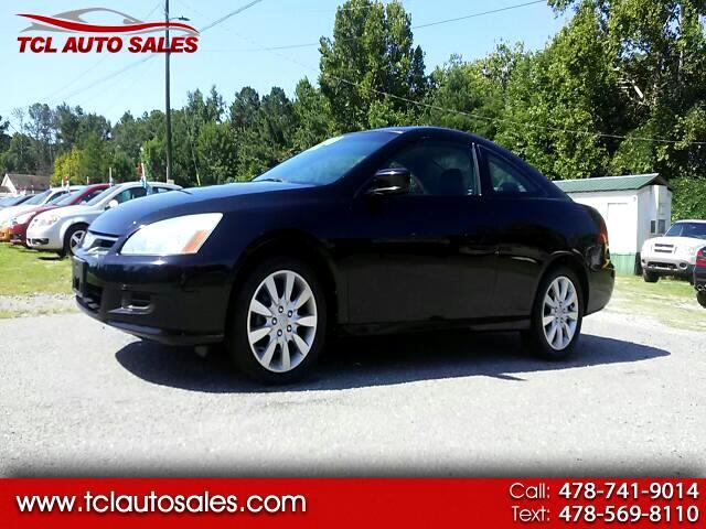 2006 Honda Accord EX V-6 Coupe AT w/ XM Radio