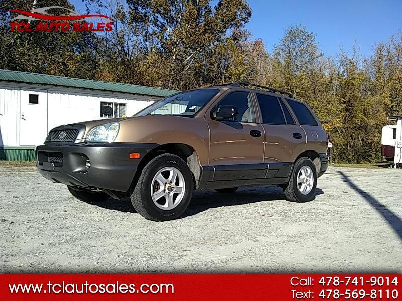2001 Hyundai Santa Fe GL