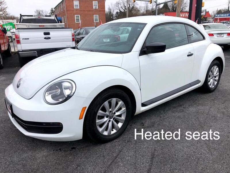 2015 Volkswagen Beetle Coupe 2dr Auto 1.8T Fleet Edition PZEV