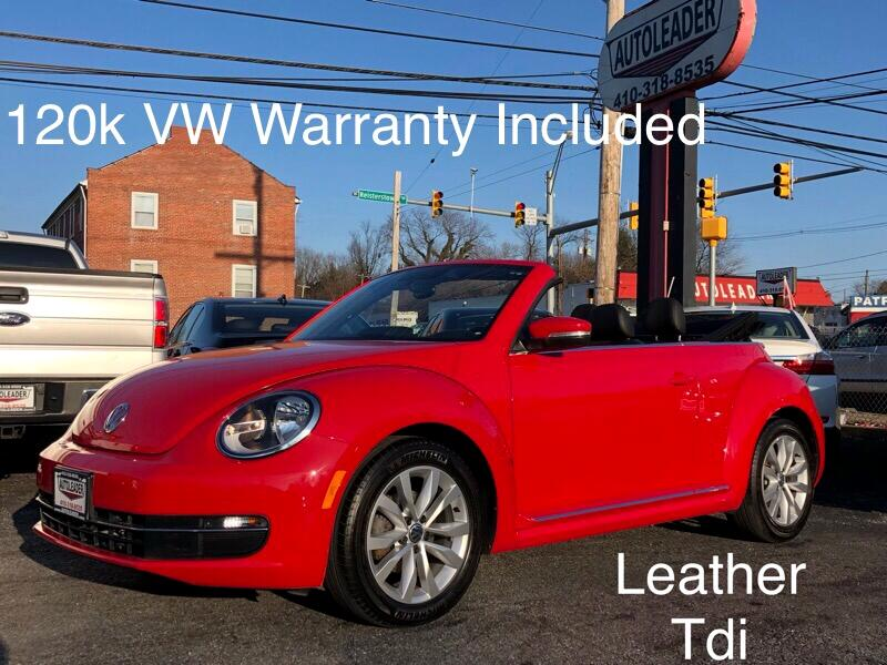 2013 Volkswagen Beetle Convertible 2dr Man 2.0L TDI