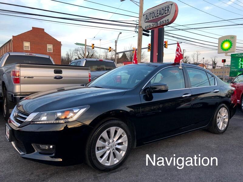 2015 Honda Accord Sedan 4dr I4 CVT EX-L w/Navi