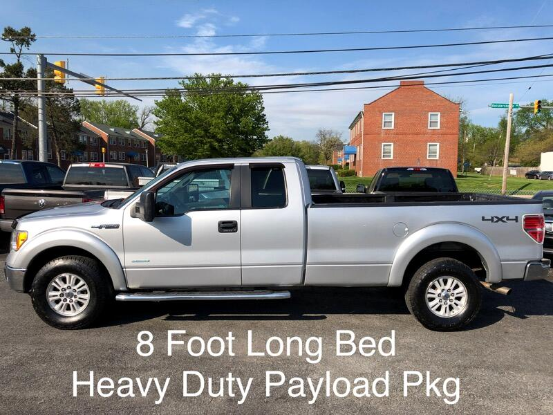 """2011 Ford F-150 4WD SuperCab 163"""" XLT w/HD Payload Pkg"""