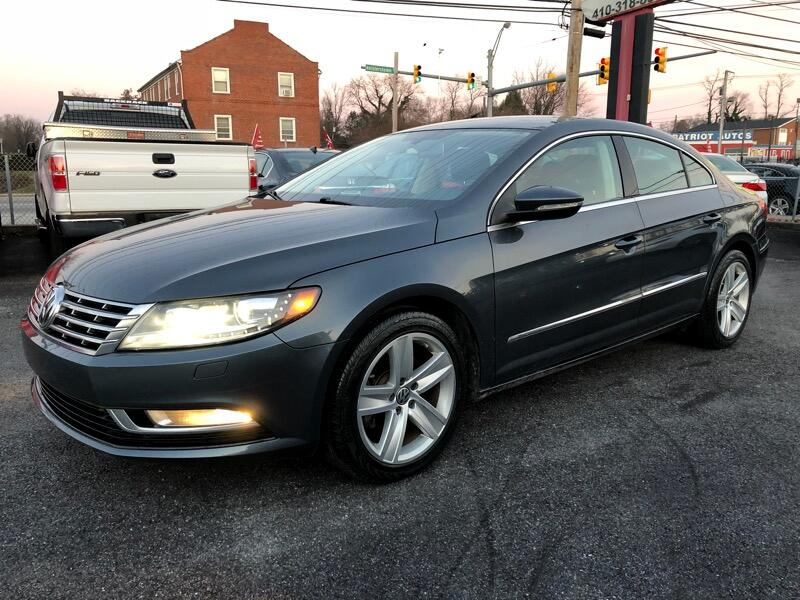 2014 Volkswagen CC 4dr Sdn Man Sport w/LEDs