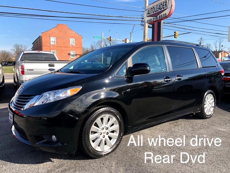 2012 Toyota Sienna 5dr 7-Pass Van V6 Ltd AWD (Natl)