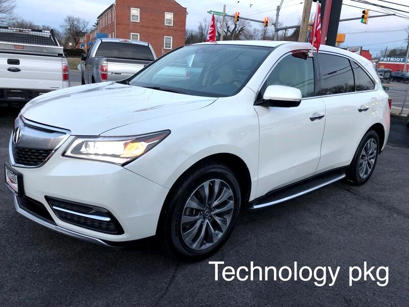 2014 Acura MDX Technology Pkg