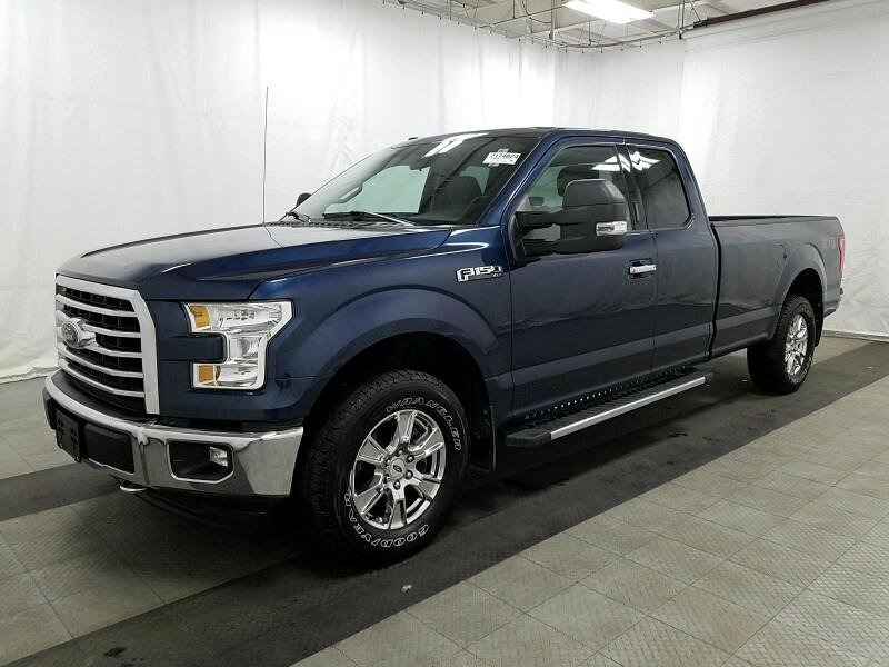 2017 Ford F-150 XLT 4WD SuperCab 8' Box