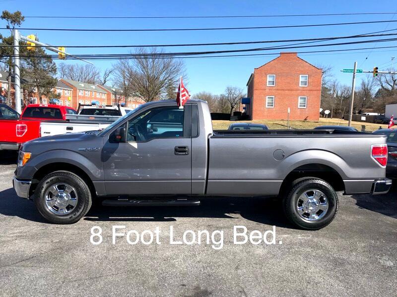 """2013 Ford F-150 2WD Reg Cab 145"""" XLT"""