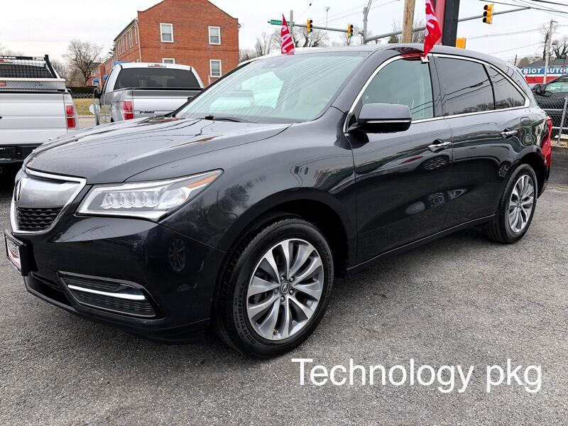2016 Acura MDX Tech/Acura Watch Plus