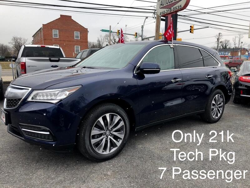 2016 Acura MDX SH-AWD 4dr w/Tech/AcuraWatch Plus