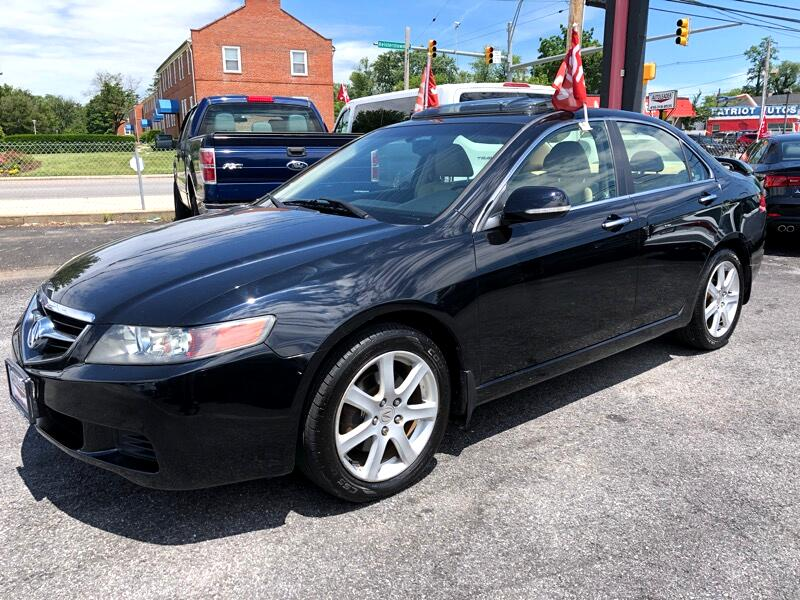 2004 Acura TSX 4dr Sport Sdn Manual