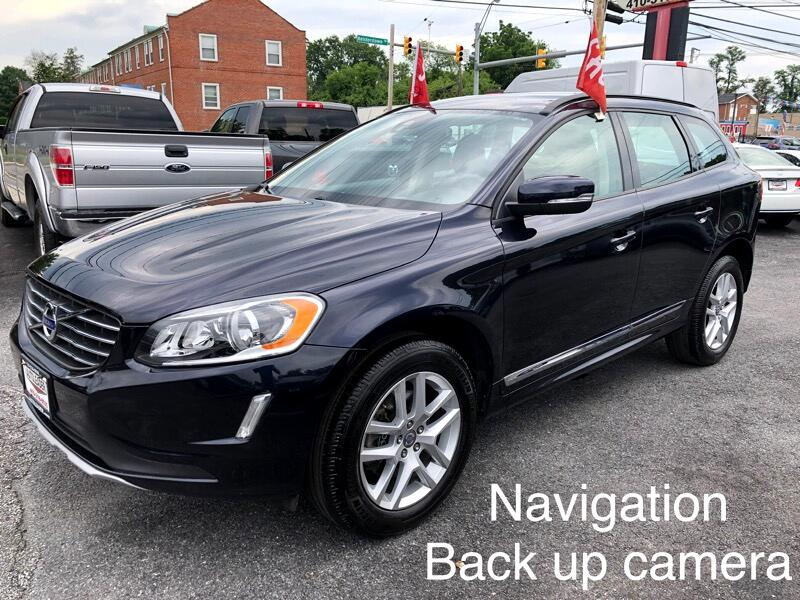 2017 Volvo XC60 T5 W/ NAVIGATION AND BACK UP CAMERA