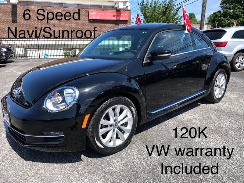 2013 Volkswagen Beetle Coupe 2dr Man 2.0L TDI w/Sun/Sound/Nav