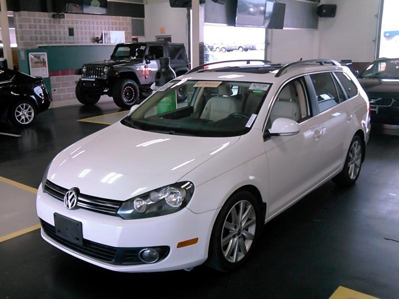 2012 Volkswagen Jetta SportWagen 4dr DSG TDI w/Sunroof