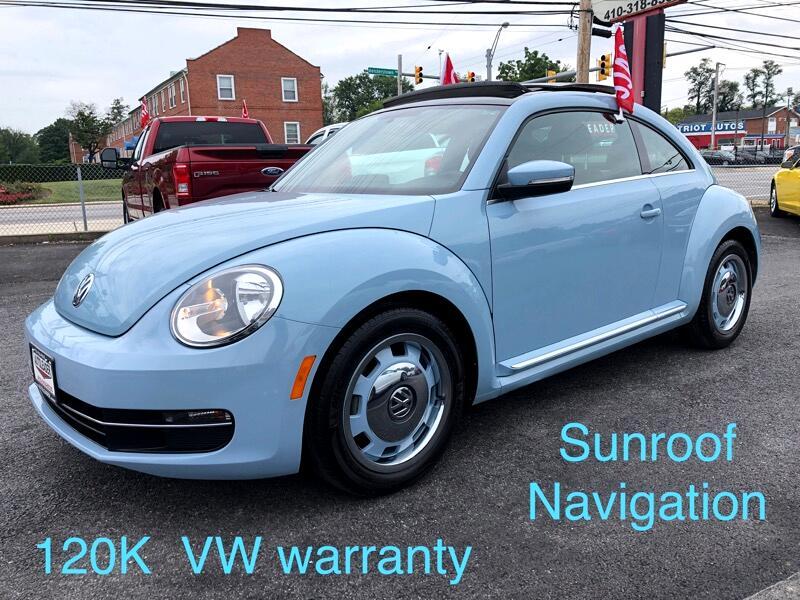 2014 Volkswagen Beetle Coupe 2dr DSG 2.0L TDI w/Sun/Sound/Nav
