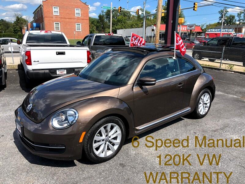 Volkswagen Beetle Coupe 2dr Man 2.0L TDI w/Sun 2013