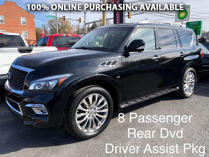 Infiniti QX80 4WD 4dr Limited 2015