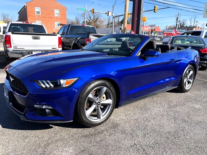 2015 Ford Mustang 2dr Conv V6