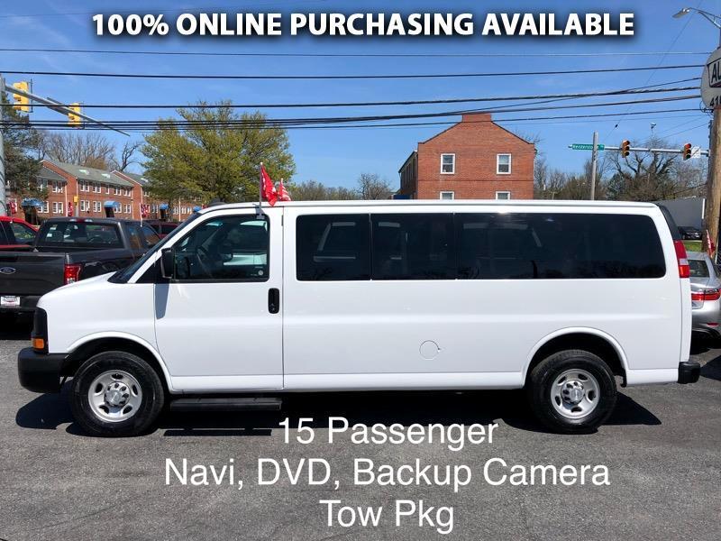 "Chevrolet Express Passenger RWD 3500 155"" LS w/1LS 2016"