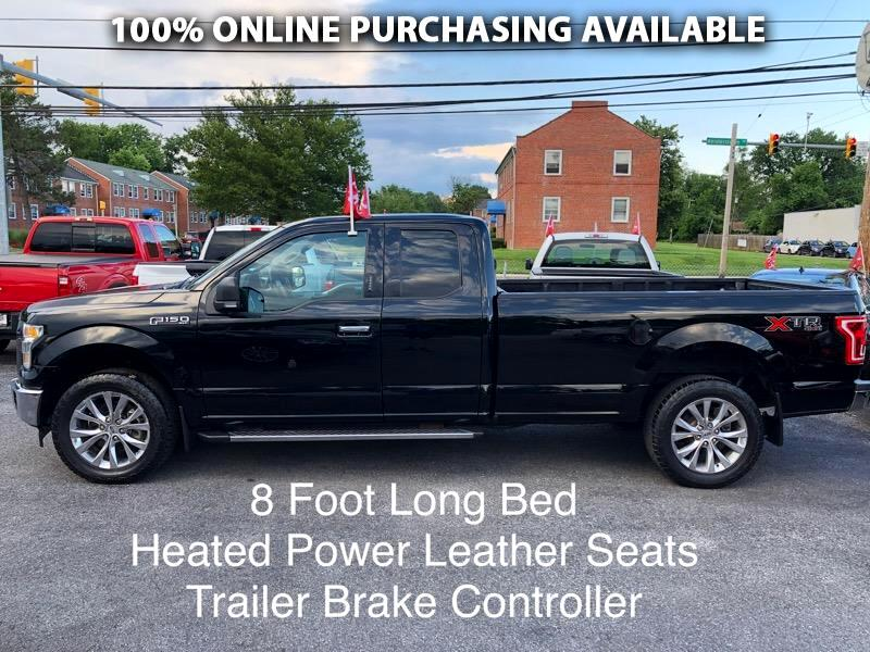 "Ford F-150 4WD SuperCab 163"" Lariat 2016"