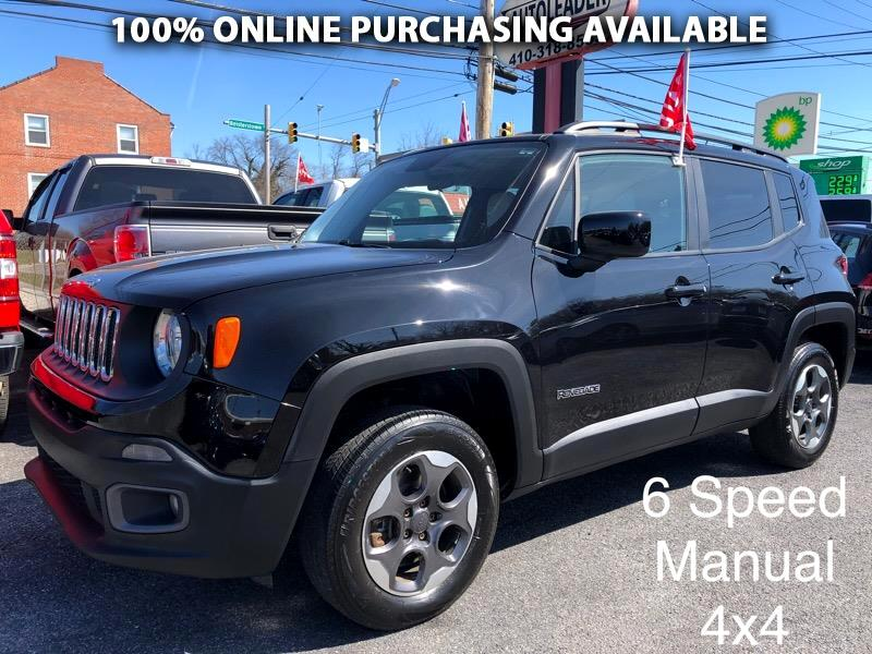 Jeep Renegade 4WD 4dr Latitude 2015