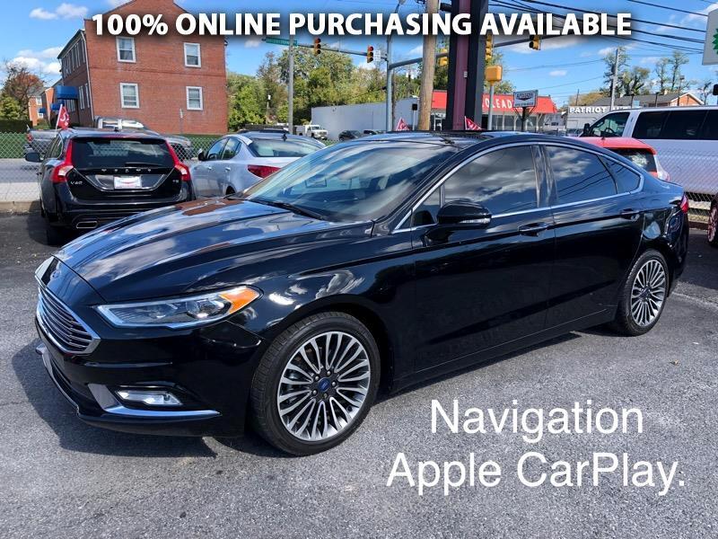 Ford Fusion Hybrid Platinum FWD 2017