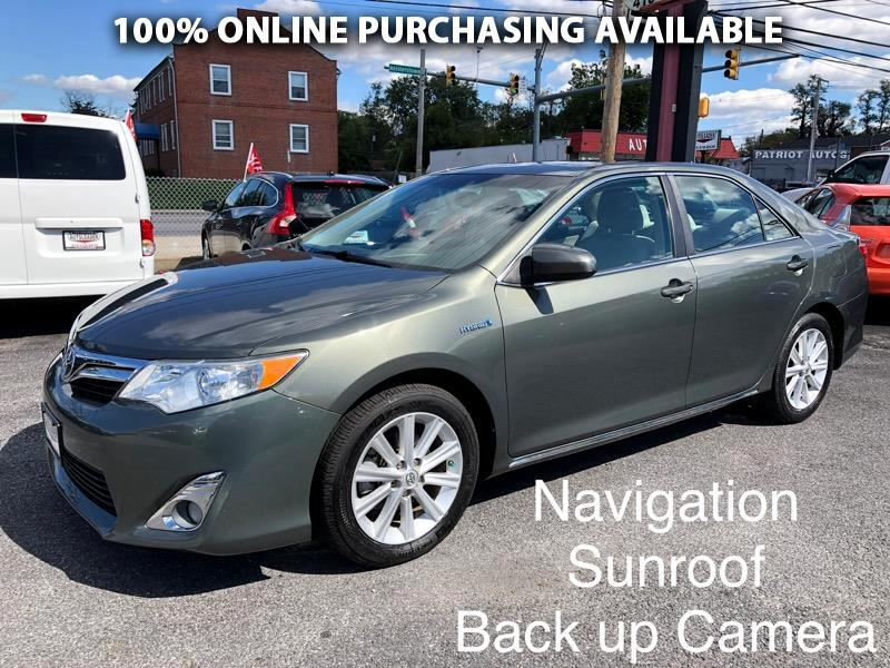 Toyota Camry Hybrid 4dr Sdn XLE (Natl) 2013