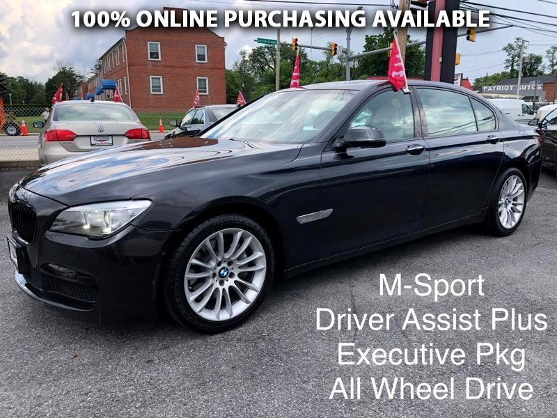 BMW 7 Series 4dr Sdn 740Li xDrive AWD 2015