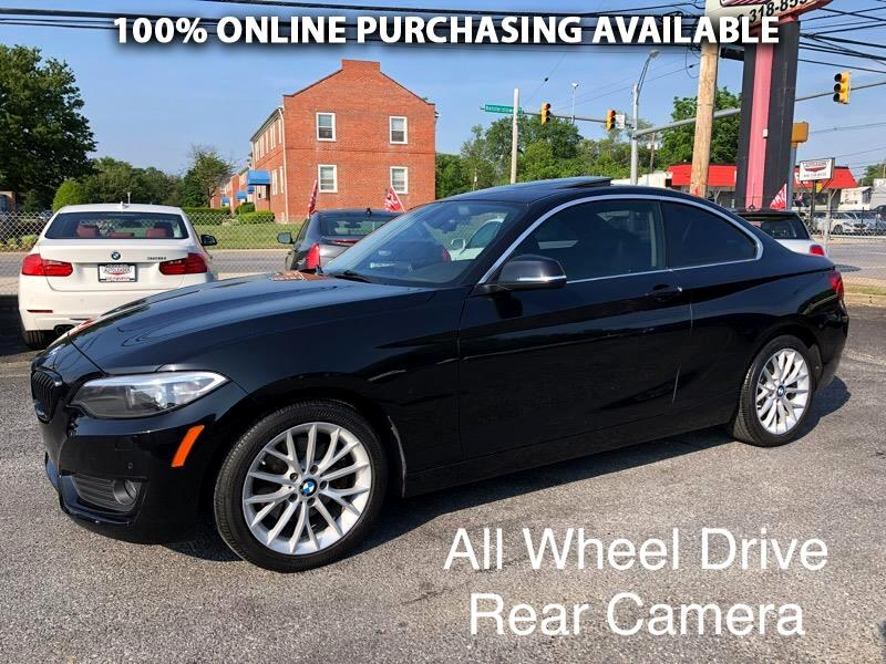 BMW 2 Series 2dr Cpe 228i xDrive AWD 2015