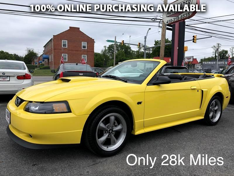 Ford Mustang 2dr Convertible GT Deluxe 2002