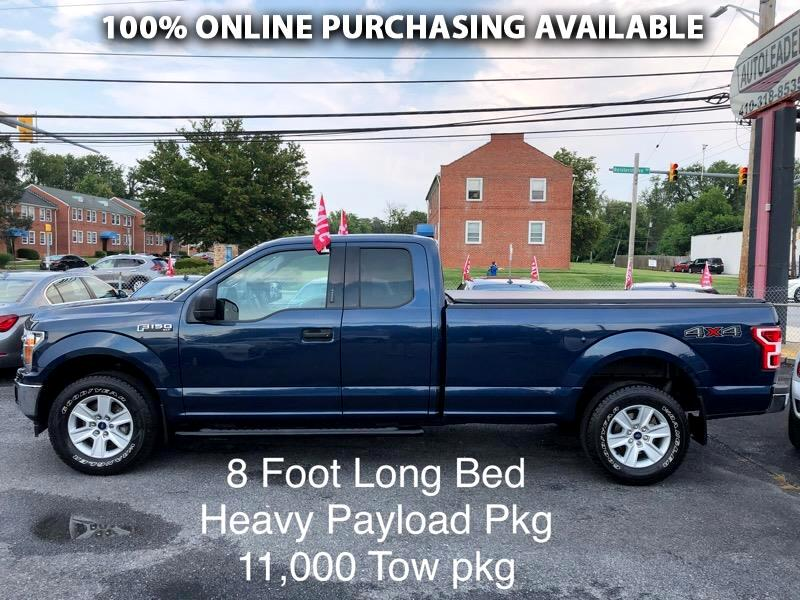 """Ford F-150 4WD SuperCab 163"""" XLT w/HD Payload Pkg 2018"""