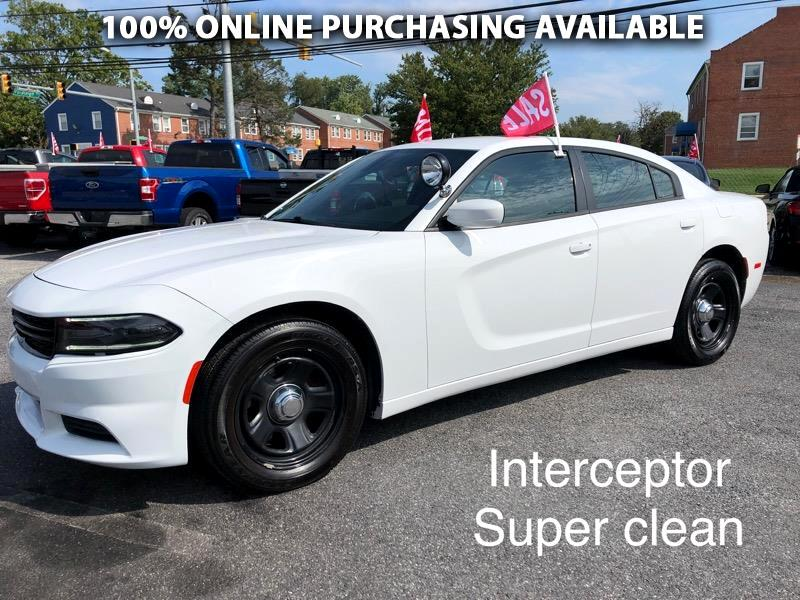Dodge Charger 4dr Sdn Police RWD 2015