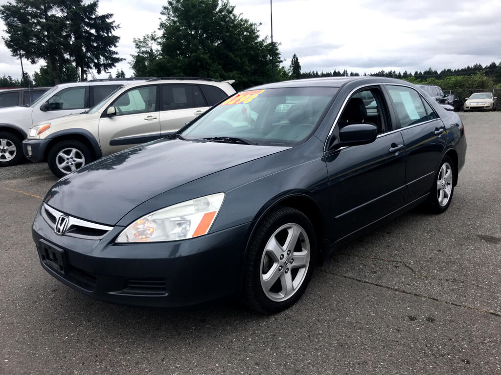 2006 Honda Accord EX V-6 Sedan w/ Nav System/ XM Radio
