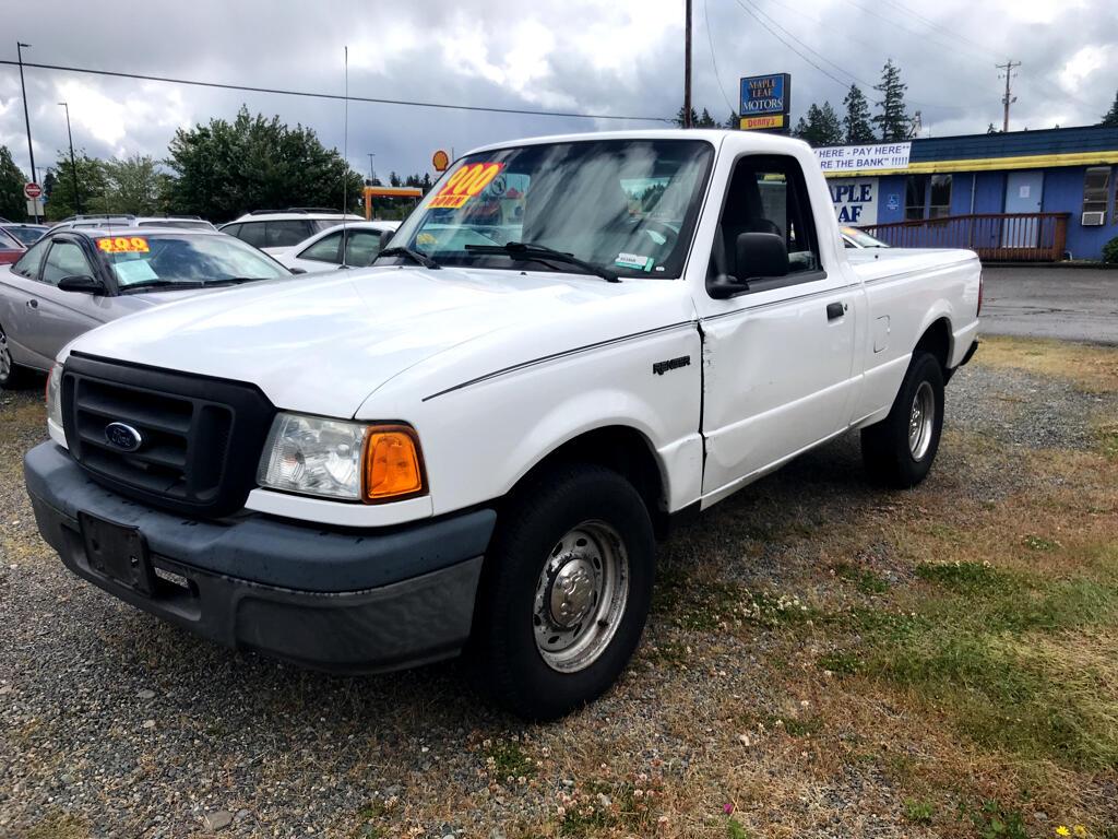 2004 Ford Ranger Reg Cab 3.0L XL