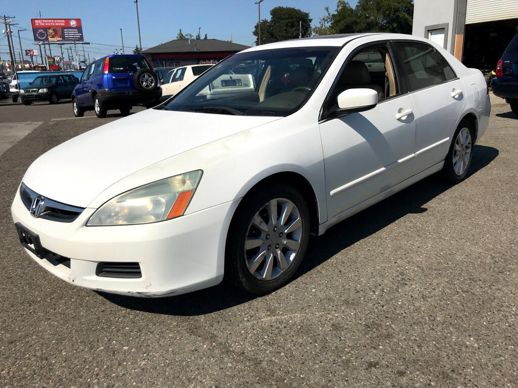 Honda Accord Sdn EX Auto V6 w/Leather/XM/Nav 2006