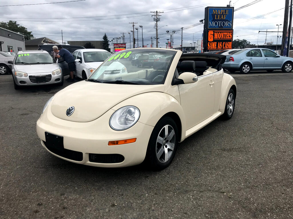 2006 Volkswagen New Beetle Convertible 2dr 2.5L PZEV Manual